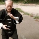 Тайцзи цюань в Институте современного искусства. Семинар. 2011. На фото - председатель НСНБР А.Г.Огнивцев.