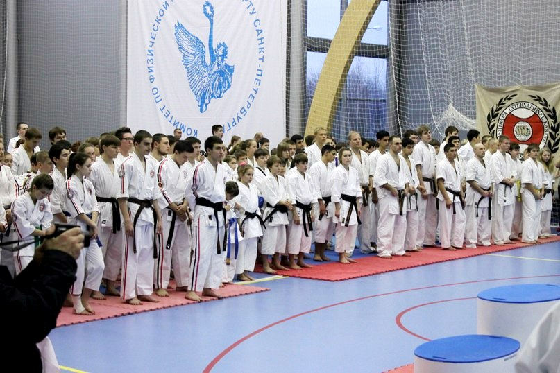 В Санкт-Петербурге 17-18 ноября впервые в России прошёл 8-й объединенный чемпионат России по стилевому каратэ.
