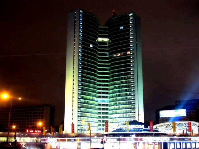 Москва. 1 декабря 2012 года 20 часов. Фото - председатель НСНБР А.Г.Огнивцев.