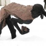 Парк искусств. Крымский вал. ЦДХ. Музеон. Прикоснись к истории... Улицы. Витрины. 07.02.2013. Автор фото - председатель НСНБР А.Г.Огнивцев.