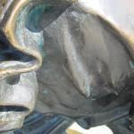 НСНБР: Отражение памяти. Фарфоровый джаз. Часики. Церемониальные платья. Глаз НЛО. Леший. Пара медведей и кактусы. Автор фото председатель НСНБР А.Г.Огнивцев. 19 июня 2013 года в Москве… Квазимодо.