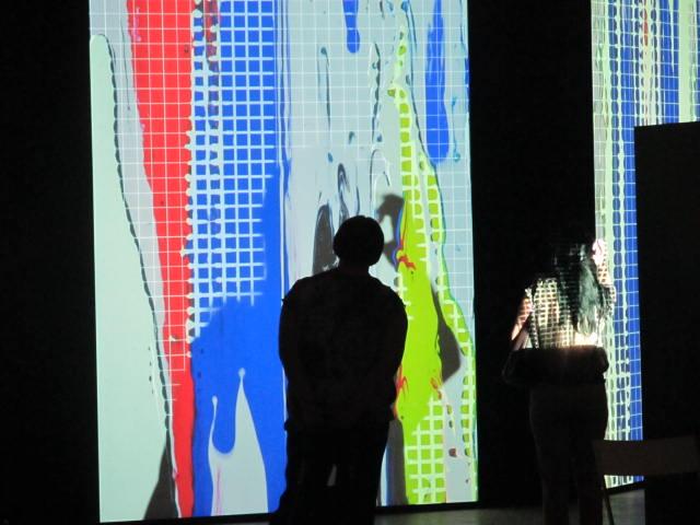 Создающий чувства в движении… Lexus HybridArt. Современное искусство в Манеже 09.08.2013г. после 19 часов. Автор фото председатель НСНБР А.Г.Огнивцев. IMG_5722