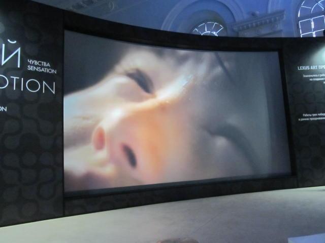Создающий чувства в движении… Lexus HybridArt. Современное искусство в Манеже 09.08.2013г. после 19 часов. Автор фото председатель НСНБР А.Г.Огнивцев. IMG_5797