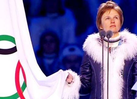 Клятва в честности и верности олимпийским идеалам на XXII Зимней Олимпиаде в Сочи 2014. Автор фото председатель НСНБР А.Г.Огнивцев. IMG_sochi_11