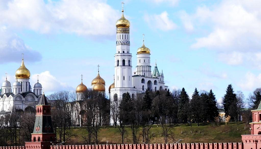 Mcrsi.ru: Москва. Весна. Фото дня. Пара уток у Кремля. 2014. Март. Автор фото председатель НСНБР А.Г.Огнивцев. IMG_13032014_4