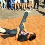 Mcrsi.ru: Уличные танцы на Арбате в Москве. Брейк Данс. 12.07.2014. Полнолуние. Автор фото председатель НСНБР А.Г.Огнивцев. 13072014_2