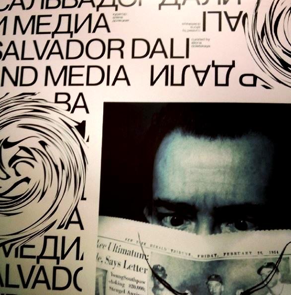 Mcrsi.ru: Сальвадор Дали и медиа. Сквозь время. Выставка. MMOMA. Автор фото председатель НСНБР А.Г.Огнивцев.  08.11.2014_16
