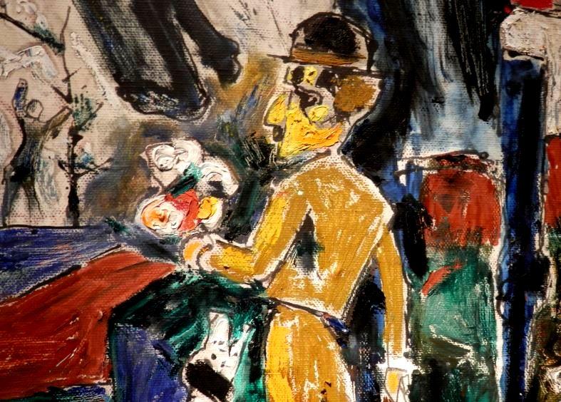Моисей Фейгин в ARTSTORY. Выставка. Авангард. Художник. Автор фото председатель НСНБР А.Г.Огнивцев.  18122014-7