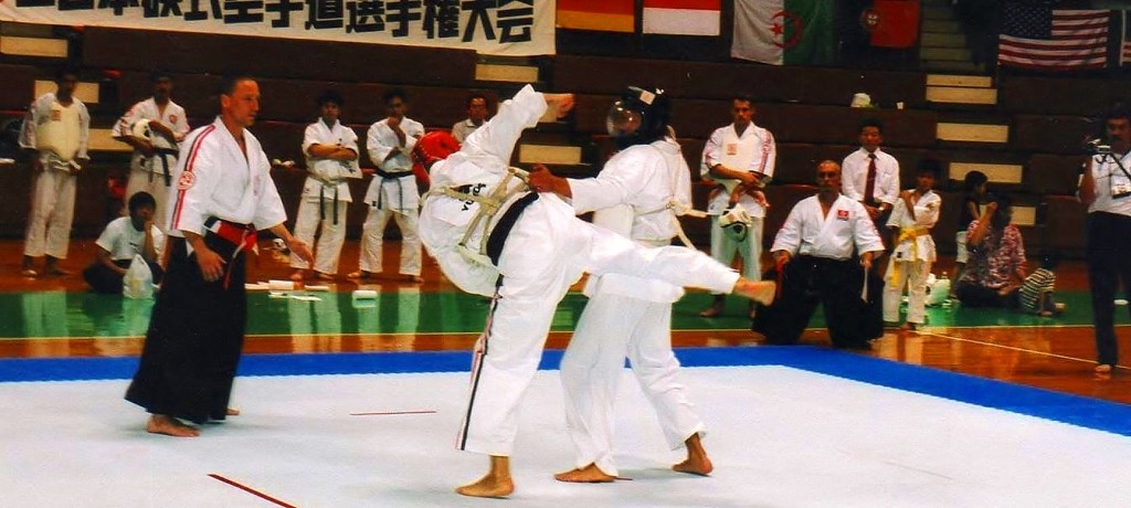 М.В.Крысин. Чемпионат мира по Косики каратэ 2003. Япония. Токио. ch_2003_20