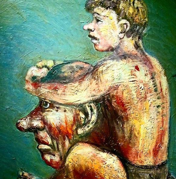 Январь 2016. ArtStory. Лев Табенкин. Современное искусство. Галерея. Выставка. Автор фото председатель НСНБР А.Г.Огнивцев. ltb_1