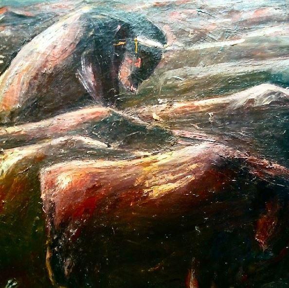 Январь 2016. ArtStory. Лев Табенкин. Современное искусство. Галерея. Выставка. Автор фото председатель НСНБР А.Г.Огнивцев. ltb_16