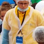 Guinness World Records. 20 т греческого салата. Красная площадь. Автор фото председатель НСНБР А.Г.Огнивцев. 04092016_12_1